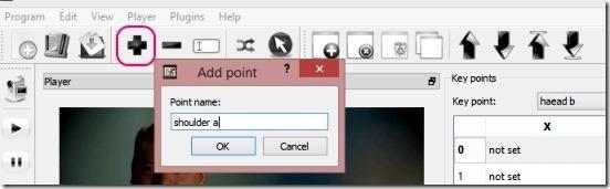 KPEdit.jpg - adding points and tool bar