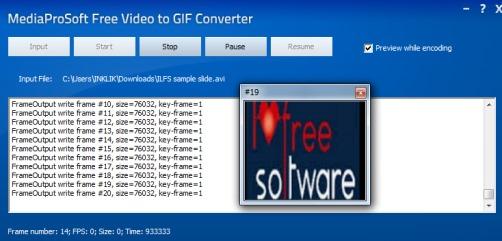 MediaProSoft Free Video to GIF Converter