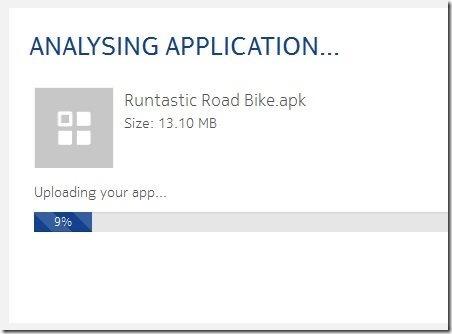 Nokia X Analyser Upload APK