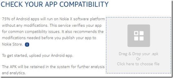 Nokia X Analyser