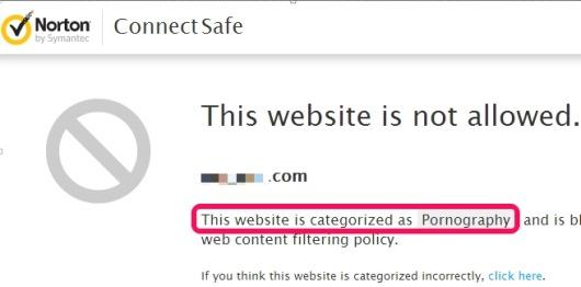 Norton ConnectSafe- safe Internet browsing
