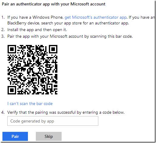 Office.com Authenticator App