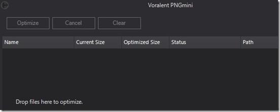PNGmini main interface