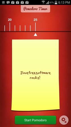 Pomodoro Timer Lite