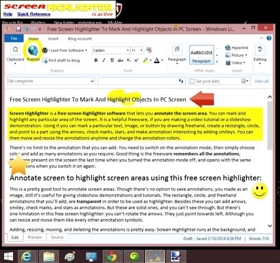 Screen Highlighter - icon