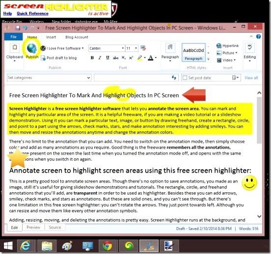Screen Highlighter - highlighter