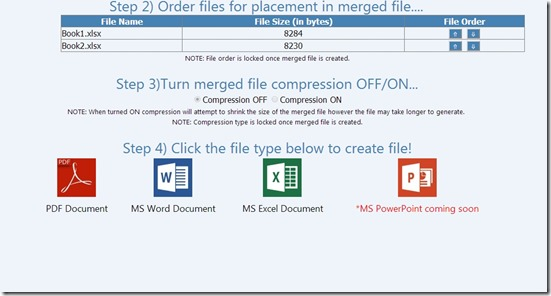 MergeFil.es-steps to merge file