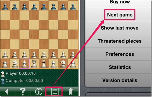 Playing A New Chess Game