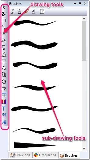VDraw - drawing tool box jpg