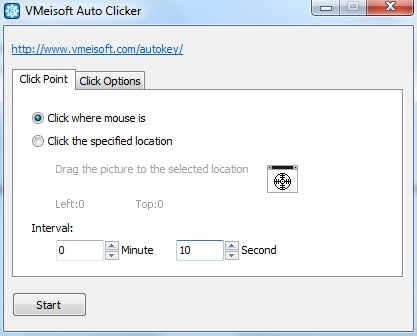 VMeisoft Auto Clicker
