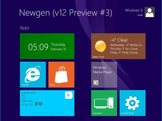Windows 8 Transformation-UX Pack - Start screen