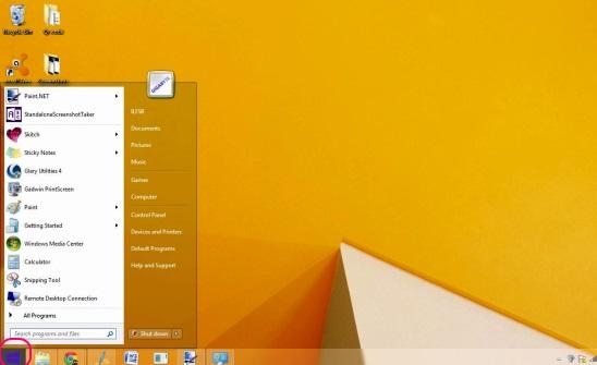 Windows 8 Transformation-UX Pack - desktop and start menu