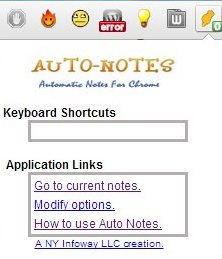 auto notes icon