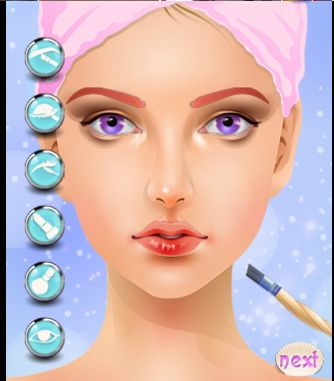 chrome beauty salon extensions