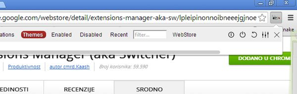 chrome theme management extensions my chrome manager3