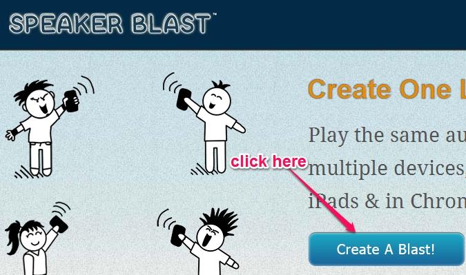 create a blast