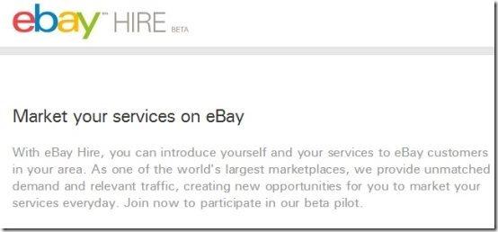 ebay Hire