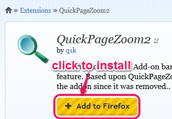 install QuickPageZoom2
