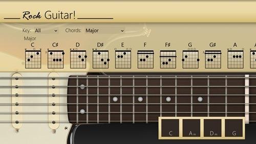 rock guitar!