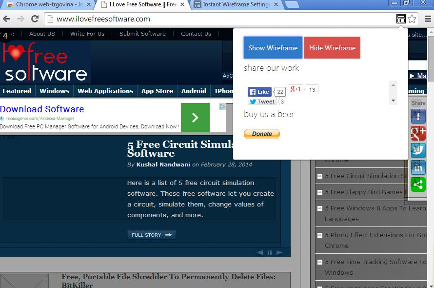 wireframe extensions google chrome-4