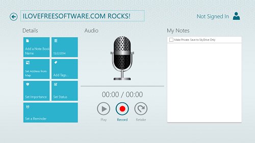 work notes pro recorder
