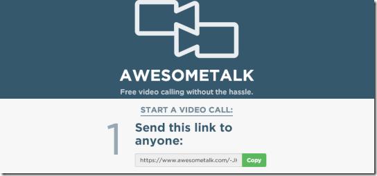 Awsometalk-homepage