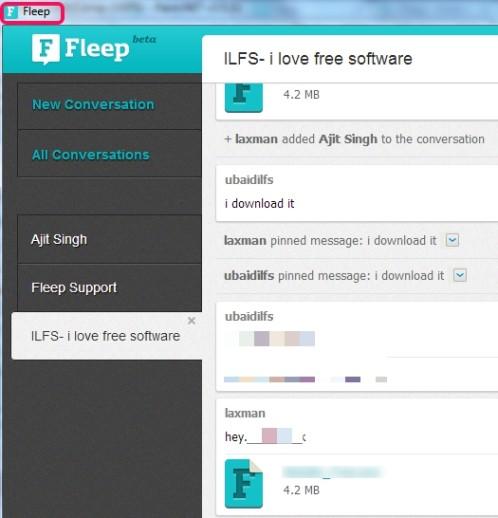 Fleep- free communication tool