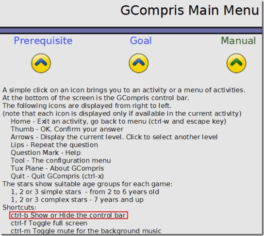GCompris-HelpManual