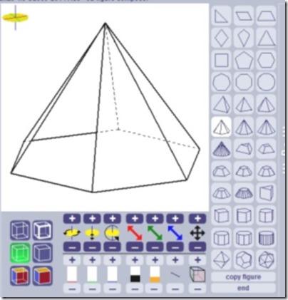 Geoenzo drawing 3d figures