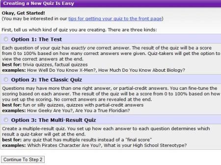 Go To Quiz