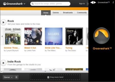 Grooveshark Windows Application