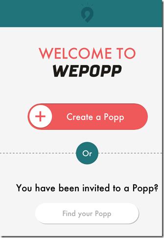 WePopp App