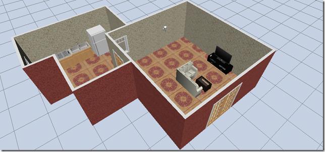 Model Created In Room Planner App