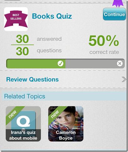 Quiz Result