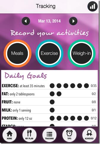 Ace Your Diet App