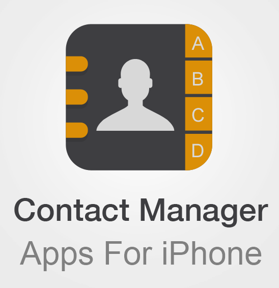 iPhone Contact Managing Apps