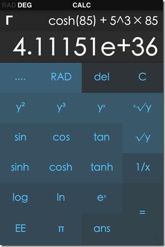 CALC - A Scientific Calculator