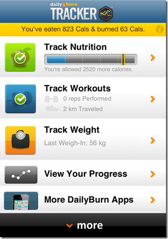 Tracker By DailyBurn