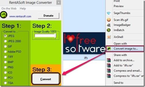 Image Converter from RentASoft