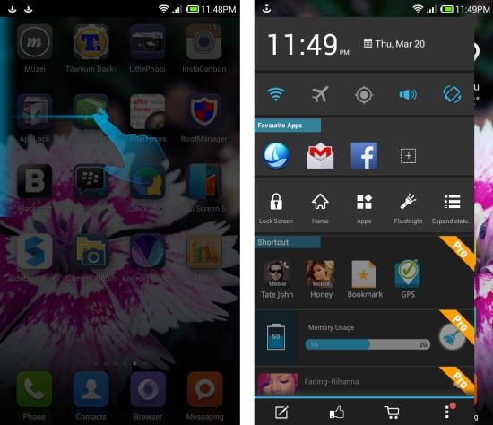 Installing free multitasking app for Android