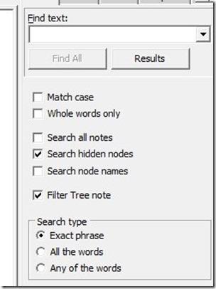 KeyNote NF filter nodes