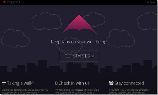 KiteString.io-homepage