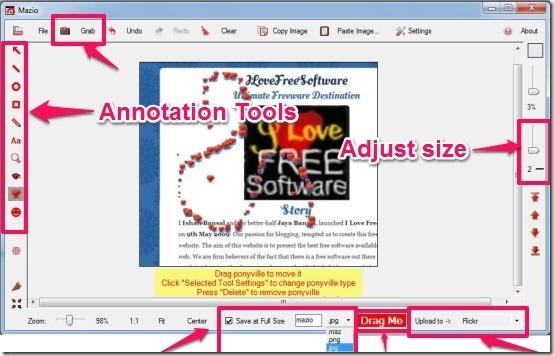 Mazio- annotation tools
