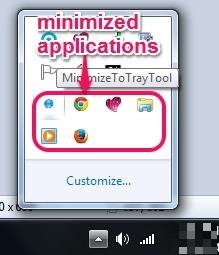 MinimizeToTrayTool- all minimized applications