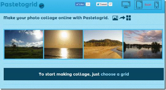 Pastetogrid-homepage
