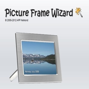 PictureFrame Wizard main interface
