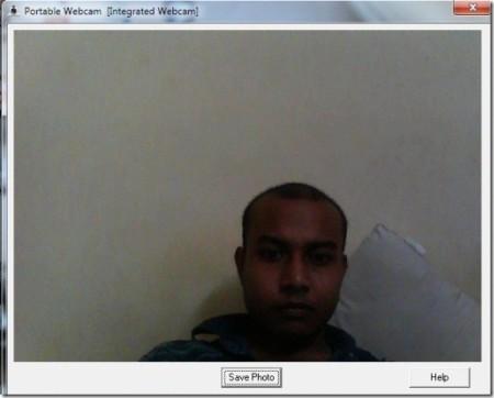 Portable-Webcam-HomeScreen