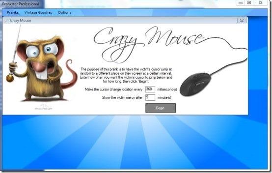 Prankster Pro- Crazy Mouse