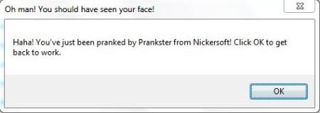 Prankster Pro- message