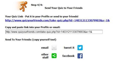 Quiz Your Friends-make quiz online